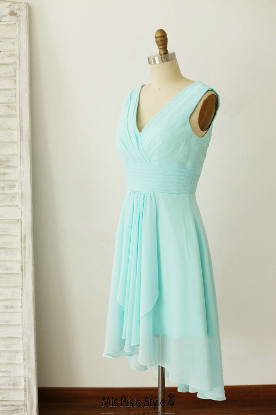 short bridesmaid dress