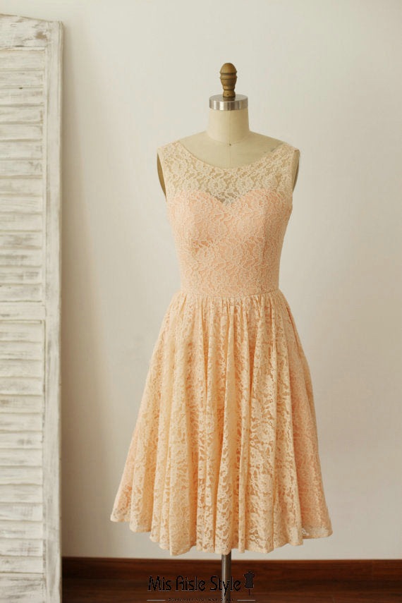 lace bridesmaid dress