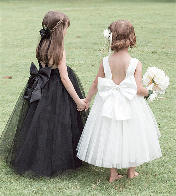 black tulle tutu dress