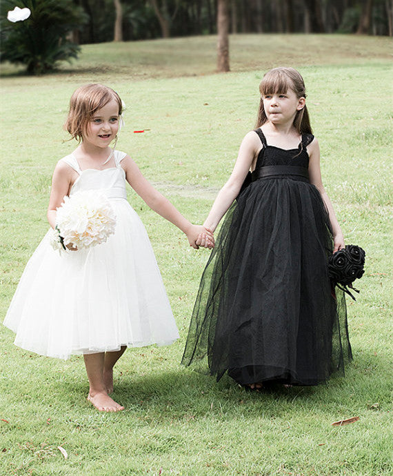 white tulle tutu dress