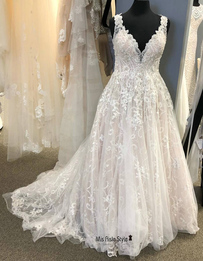 plus size wedding dress