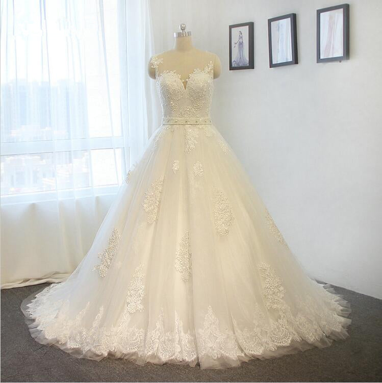 ball gown Lace Wedding Dress