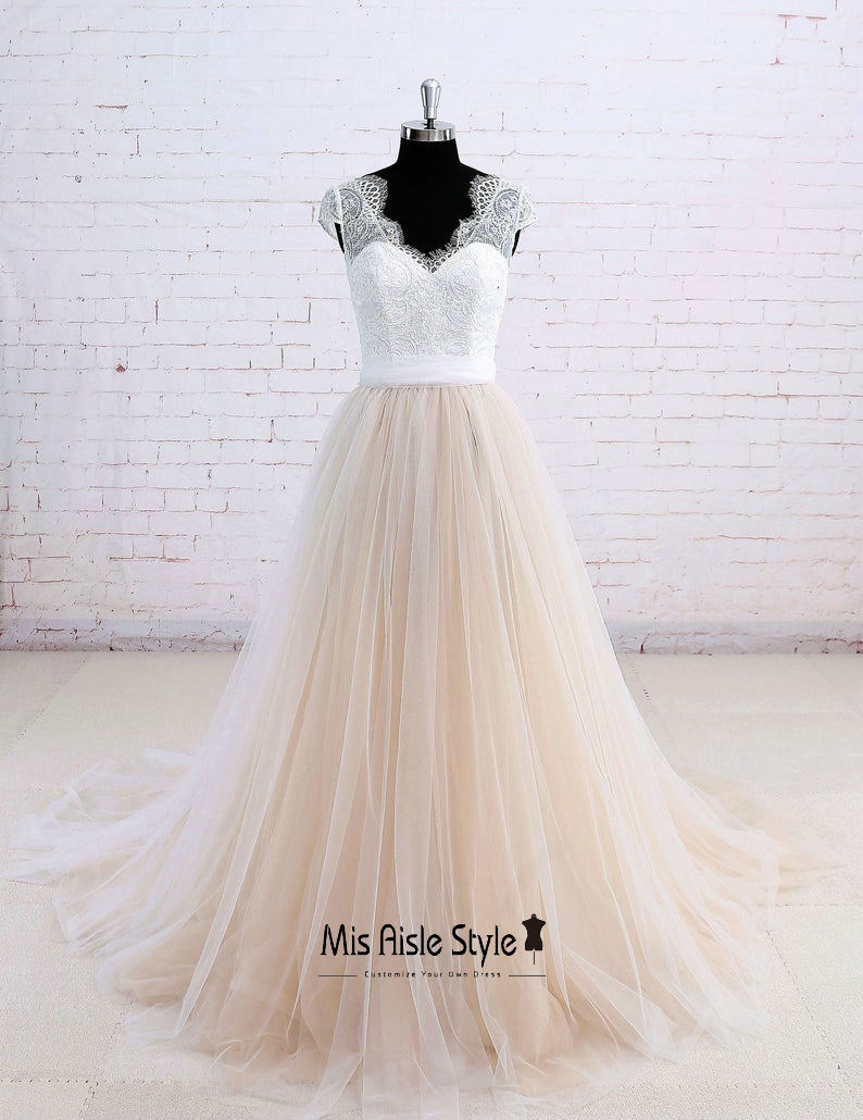 plus size summer wedding dress