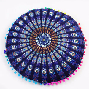 Mandala Meditation Pouf (Pillow)