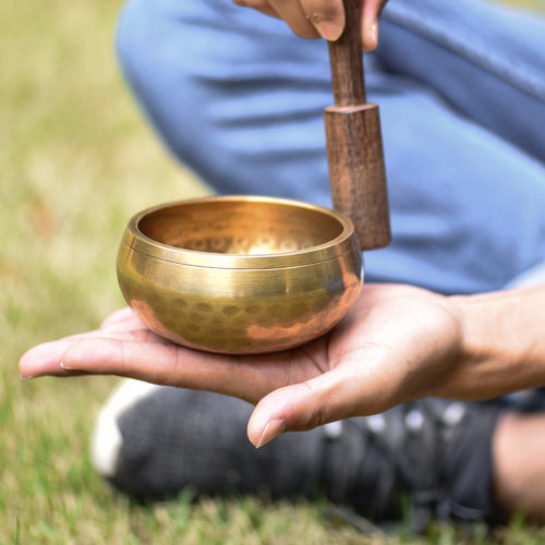 Singing Tibetan Meditation Bowl