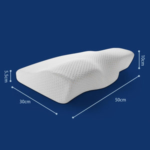 Sleep-Rite Cervical Memory Foam Pillow