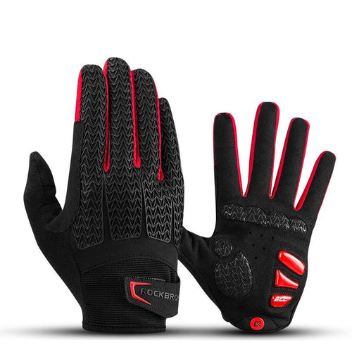 Full Fingered Workout Gloves with Touch Screen Support