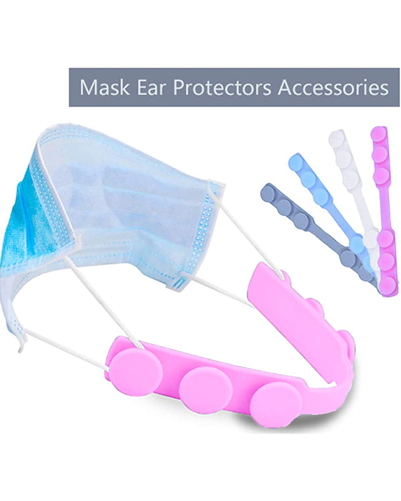 Silicone Mask Strap Extender Anti-Tightening Mask Holder Hook Ear Strap