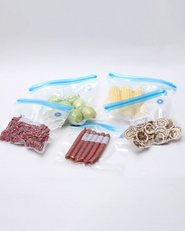 Transparent Saving Space Seal Pumping Vacuum Bags