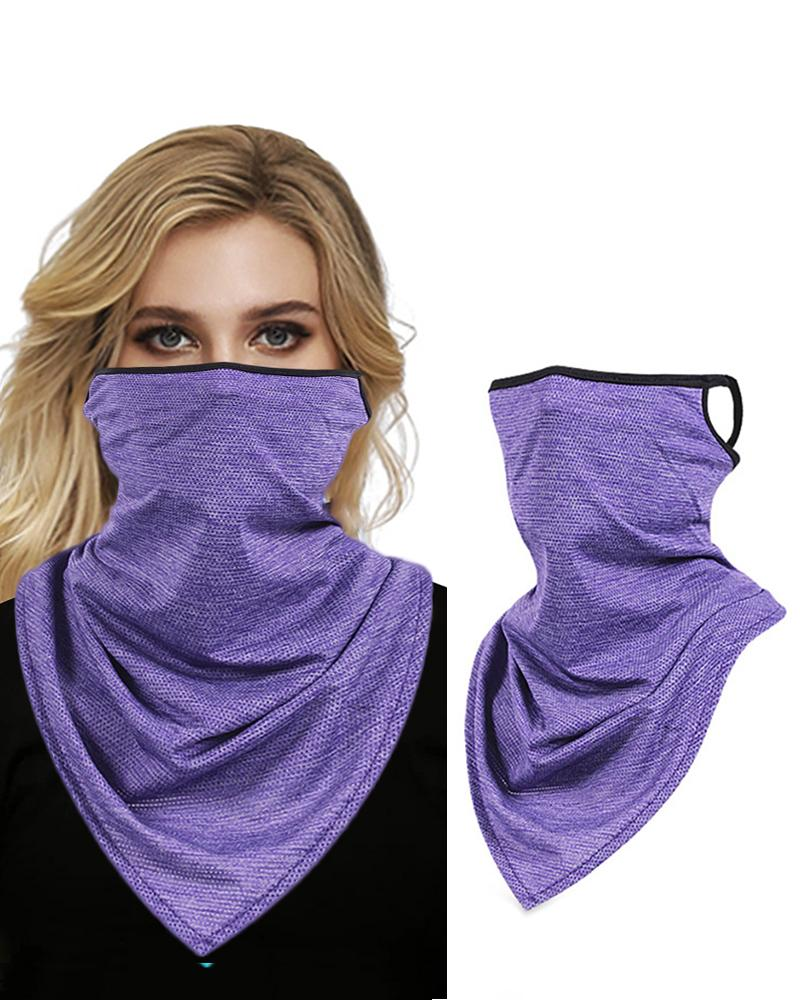 Colourful Print Breathable Face Bandana Magic Scarf Headwrap Balaclava