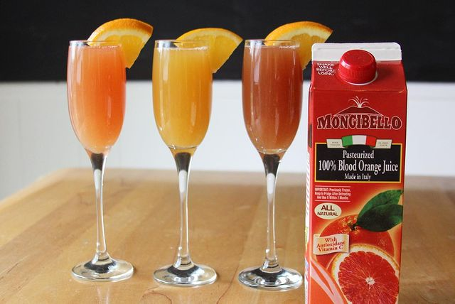 Mimosas Three Ways by CocktailsByKaedyn