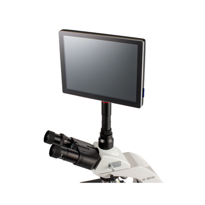 Trinocular Microscope with integrate tablet. VE-B6 PAD