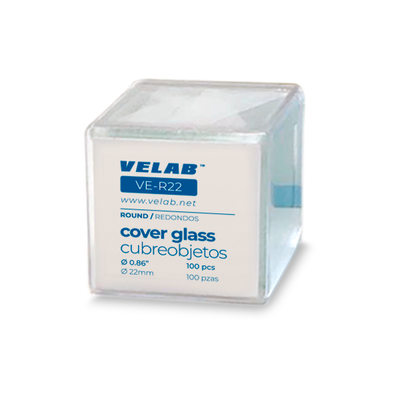 Square Coverslips Cover Glass 100 pieces