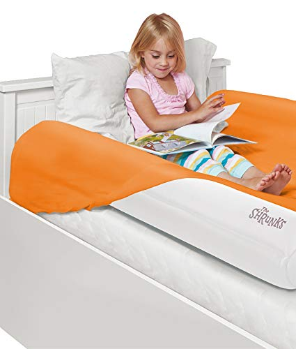 The Shrunks Inflatable Bed Rails for Toddlers - Portable Safety Side Bumpers