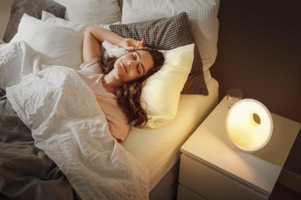 Philips Smartsleep Sleep & Wake-up Light Therapy Alarm Lamp