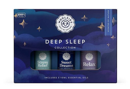 Woolzies 100% Pure Good Night Deep Sleep Well Essential oil Blend Undiluted Therapeutic Grade Set