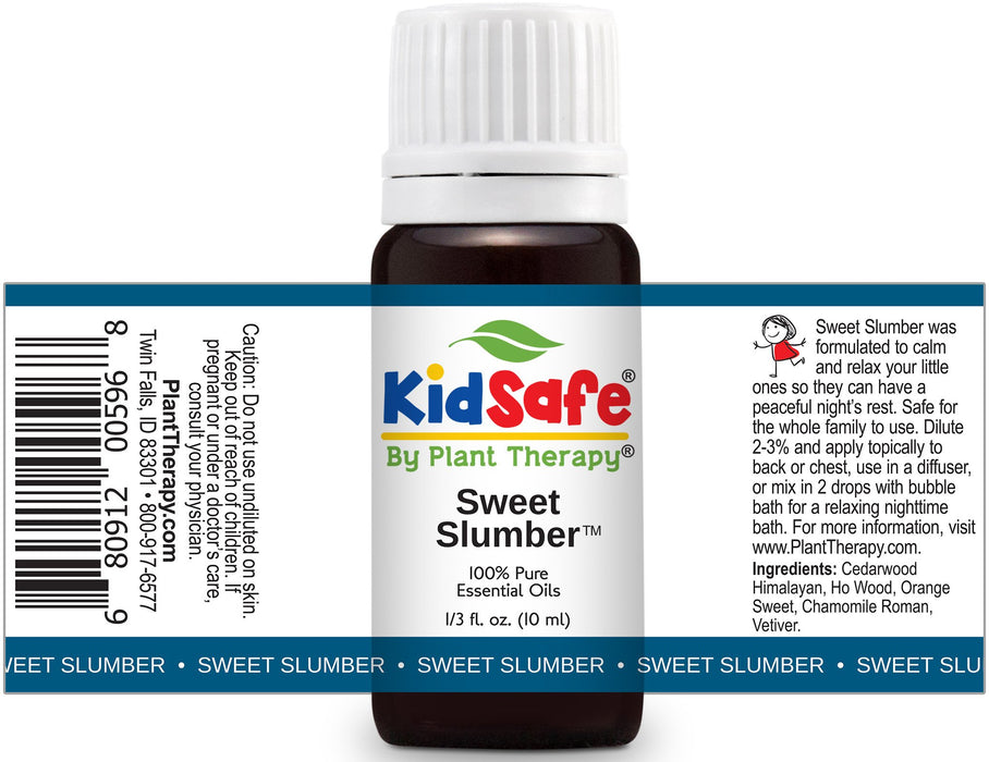 Plant Therapy KidSafe Sweet Slumber Synergy Essential Oil 10 mL (1/3 oz) 100% Pure, Undiluted, Therapeutic Grade