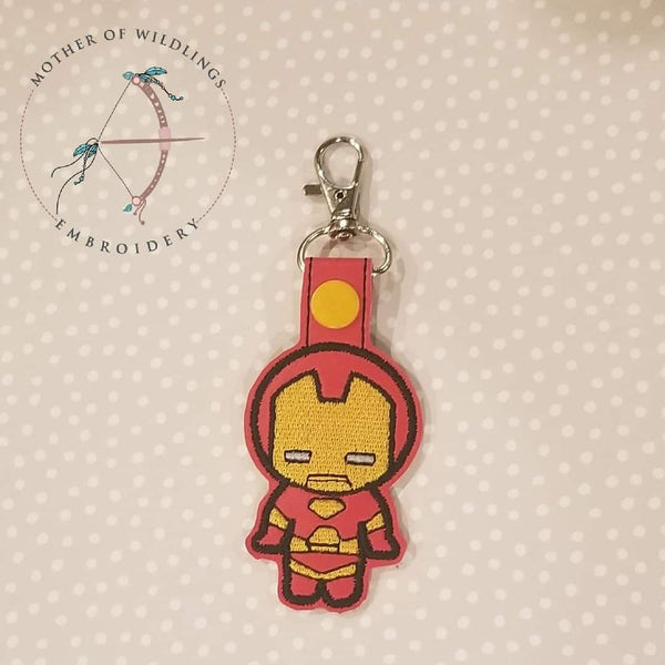 Iron Guy Keychain