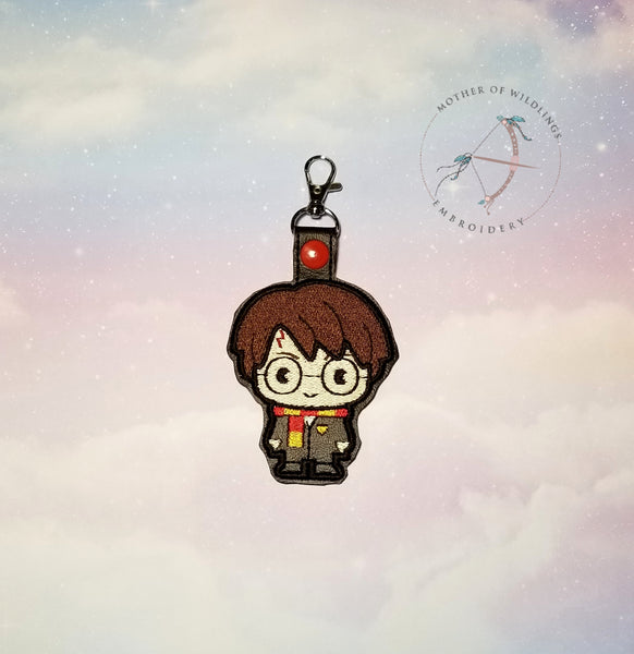 Wizard Boy Keychain