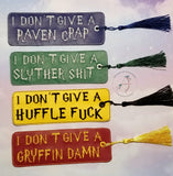 Wizard House Pottymouth Bookmarks