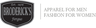 Broderick's Apparel for Men & Fashion For Women