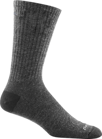 Darn Tough Mens Standard Issue Mid-Calf LT Cushion Sock in Charcoal