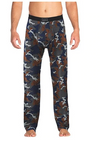 Saxx Sleepwalker Pant - Navy Wood Grain Camo