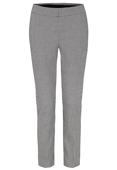 Houndstooth Pull-on Ankle Pant