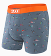 Saxx Ultra Boxer - Blue Totally Gnar