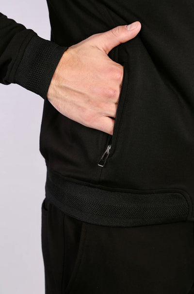 7 Downie St. Globetrotter Jacket in Black