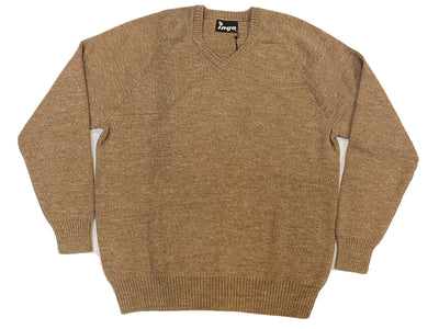 Ingo - Cuno V-Neck Sweater in New Beige