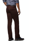 Lois - Brad Slim Twill Pants in Burgundy