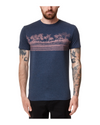 Tentree Men's Tourist Juniper T-Shirt (Dress Blue Heather)