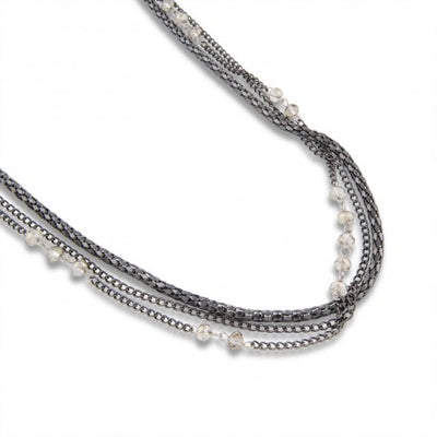 Pearls for Girls Carla Necklace in Black