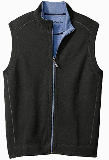 TOMMY BAHAMA REVERSIBLE VEST NIGHT CAP