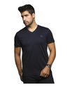 Au Noir Michael-V Shirt in Navy