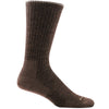 Darn Tough Men's Standard Issue Mid-Calf Light Cushion in Brown