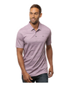 "Travis Mathew ""Tranquil Bay"" Polo Heather Grapeade"