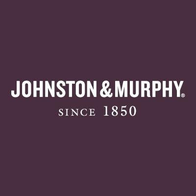 Johnston & Murphy Reece Double Buckle Navy Italian Calfskin