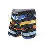 Saxx Underwear Men's Volt Boxer Brief - Paint Rollers