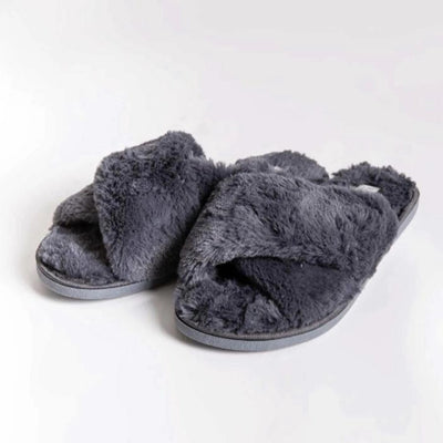 PJ Salvage Crossover Plush Slippers