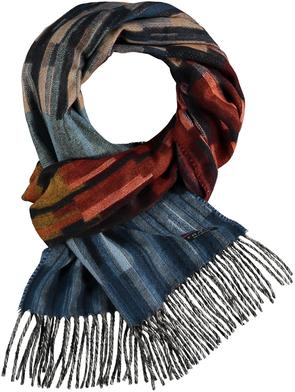 Fraas Linear Ombre Woven Cashmink® Scarf
