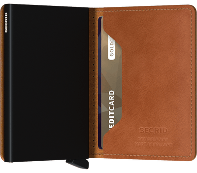 Secrid- Slimwallet Perforated Cognac