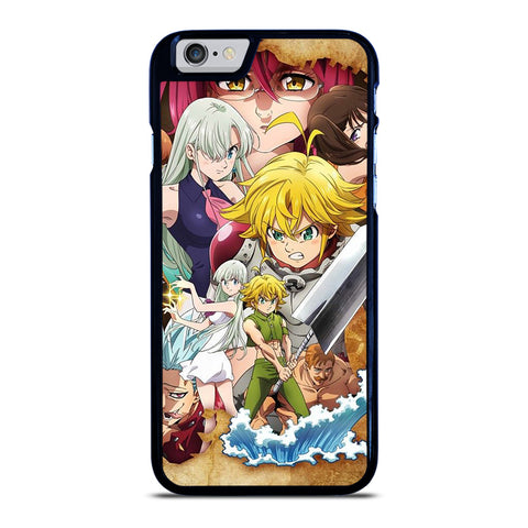 7 SEVEN DEADLY SINS ANIME CHARACTER iPhone 6 / 6S Case Cover
