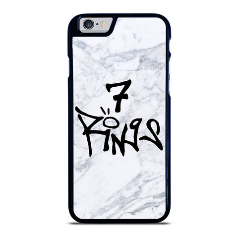 7 RINGS ARIANA GRANDE MARBLE iPhone 6 / 6S Case Cover