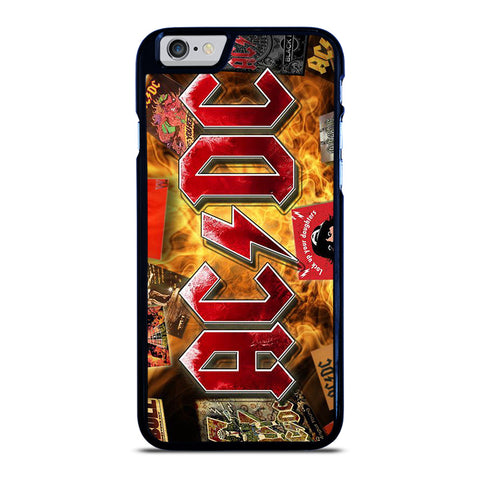 ACDC BAND LOGO ALBUM iPhone 6 / 6S Case Cover
