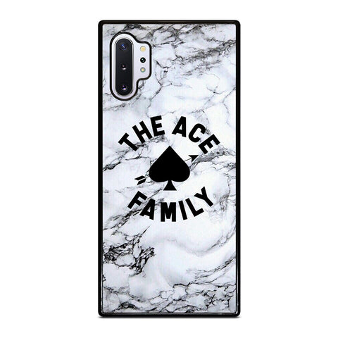ACE FAMILY MARBLE LOGO Samsung Galaxy Note 10 Plus Case Cover