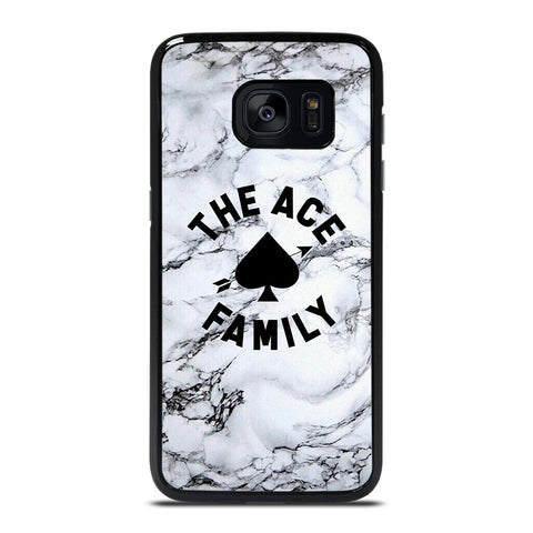ACE FAMILY MARBLE LOGO Samsung Galaxy S7 Edge Case Cover
