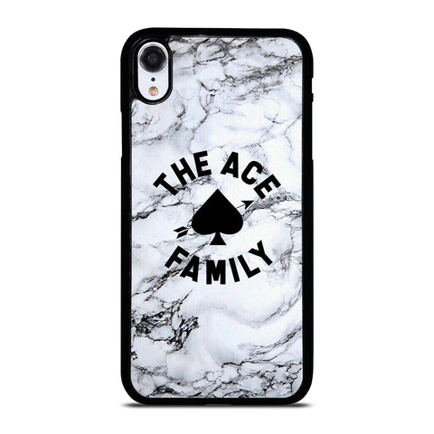 ACE FAMILY MARBLE LOGO iPhone XR Case Cover