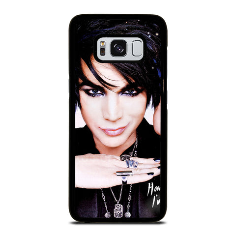 ADAM LAMBERT FACE Samsung Galaxy S8 Case Cover